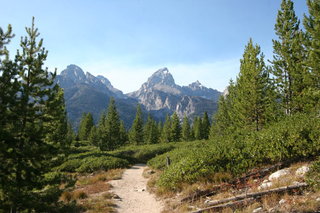 The Trail to Taggert Lake.