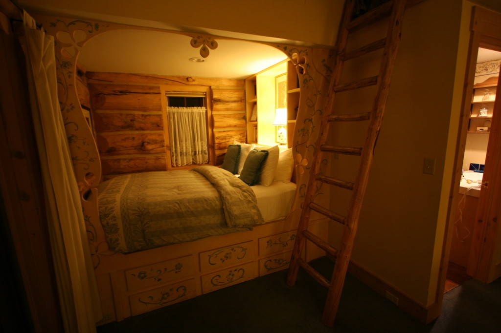 A cozy bed at the end of the day at The Bentwood Inn.