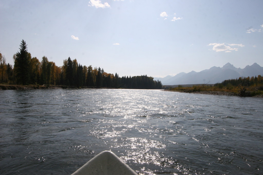 Riding the Snake River with J.B. of Fish the Fly.