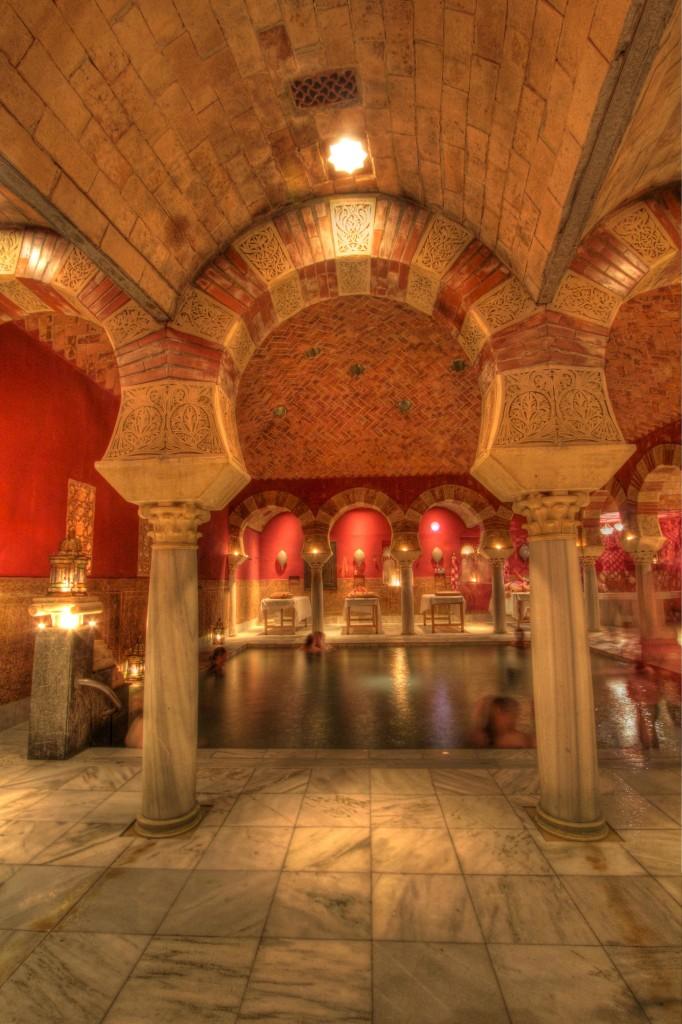 The Arab baths of Santa Maria in Cordoba.