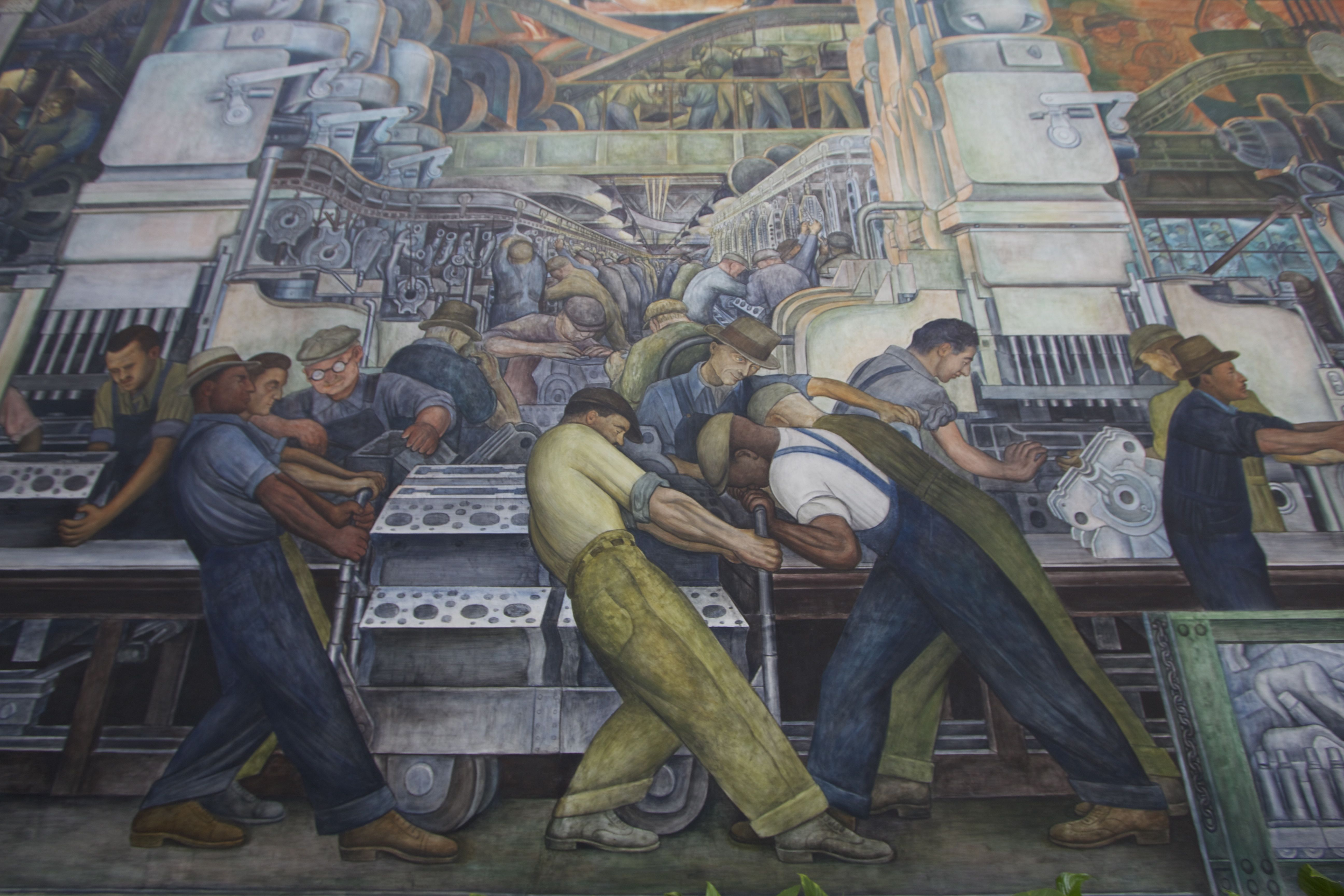 Redefining detroit travelers roundtable for Diego rivera mural dia