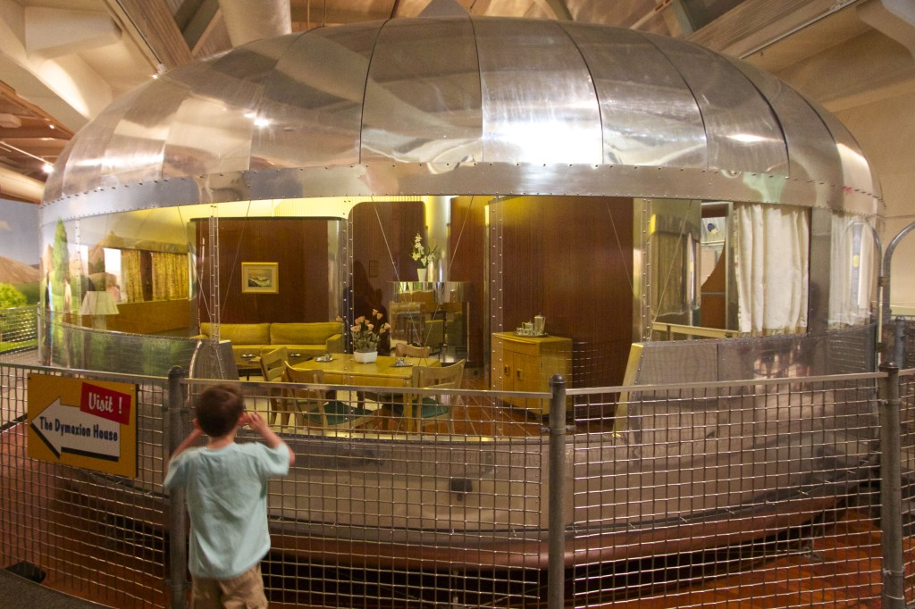 Buckminster Fuller's Dymaxion House, a vision of the future from 1946. Photo ©Robert Bundy