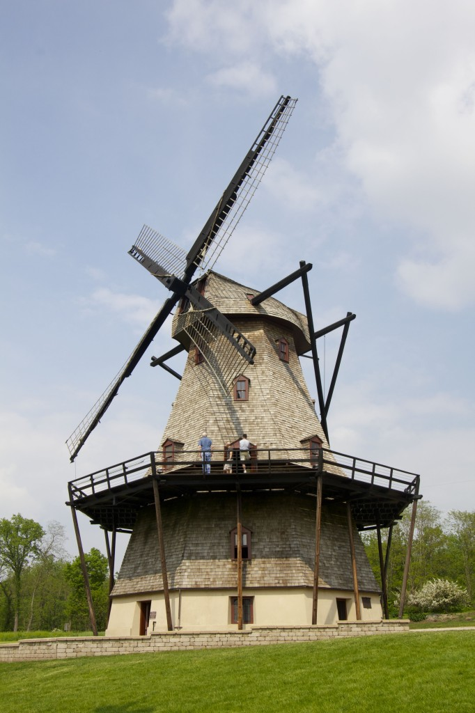 Old windmill in the Fabyan Forest Preserve.