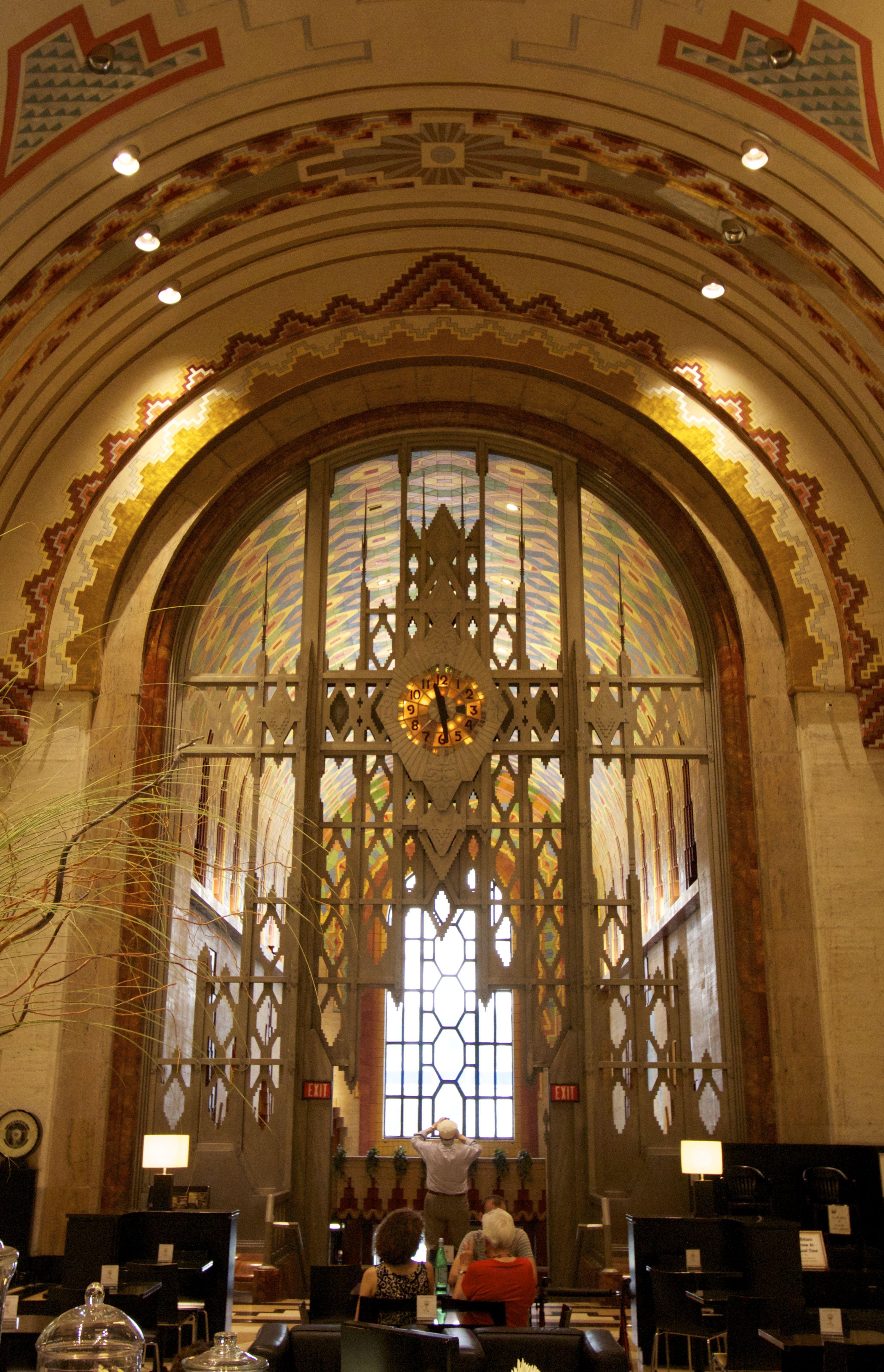 Guardian Lobby Archway