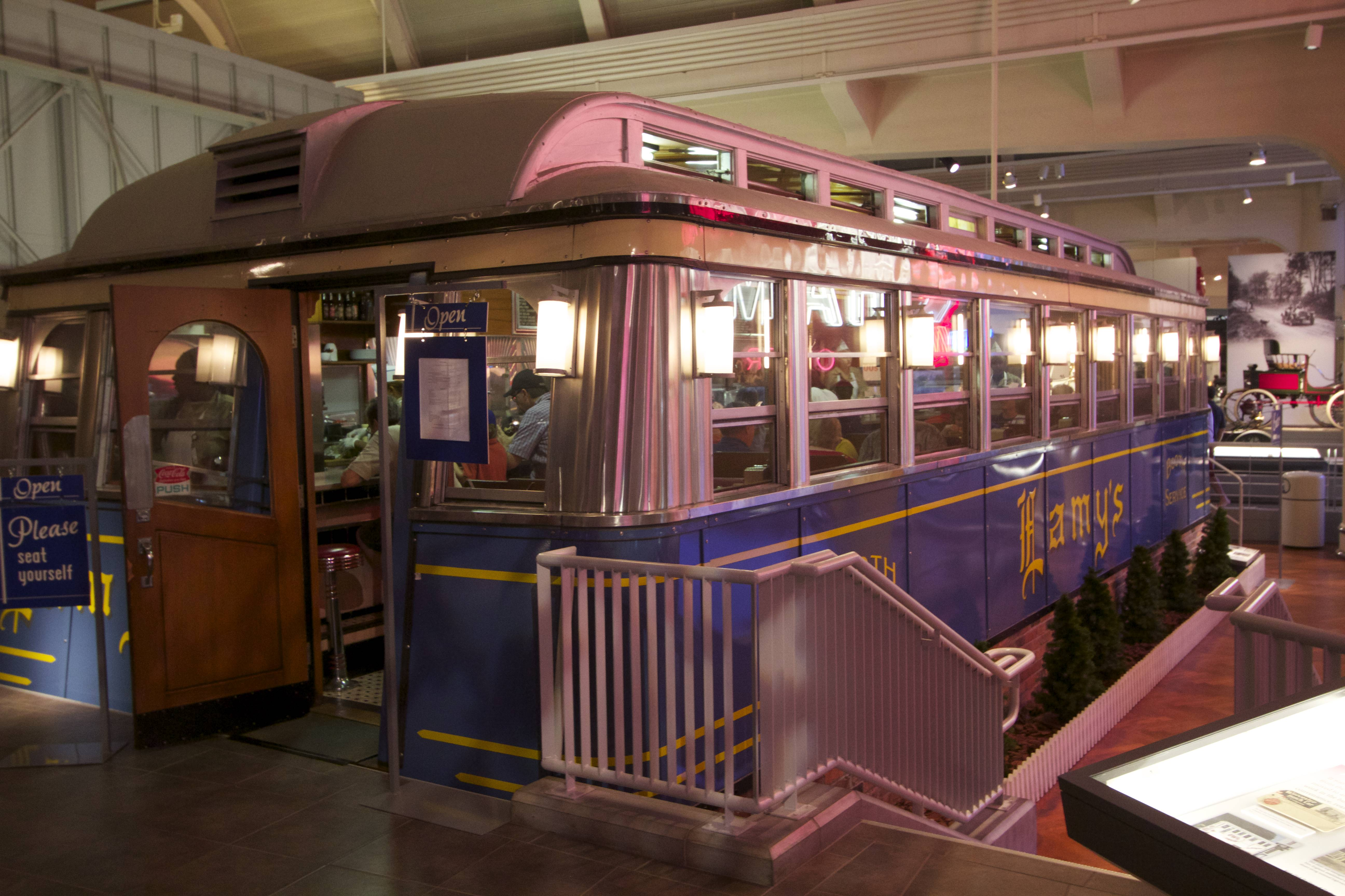Mobile Dining Car Ford Museum