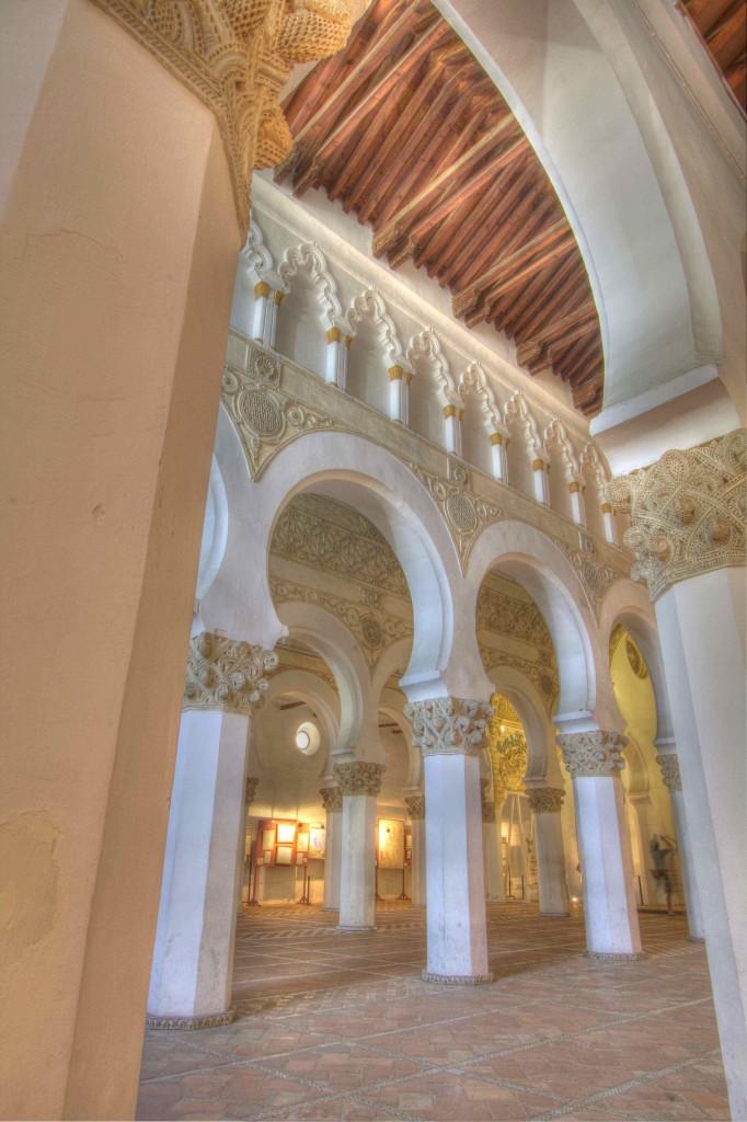 Interior of Santa Maria le Blanca.