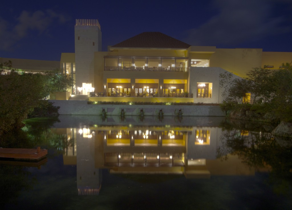 The Fairmont Mayakoba by night small
