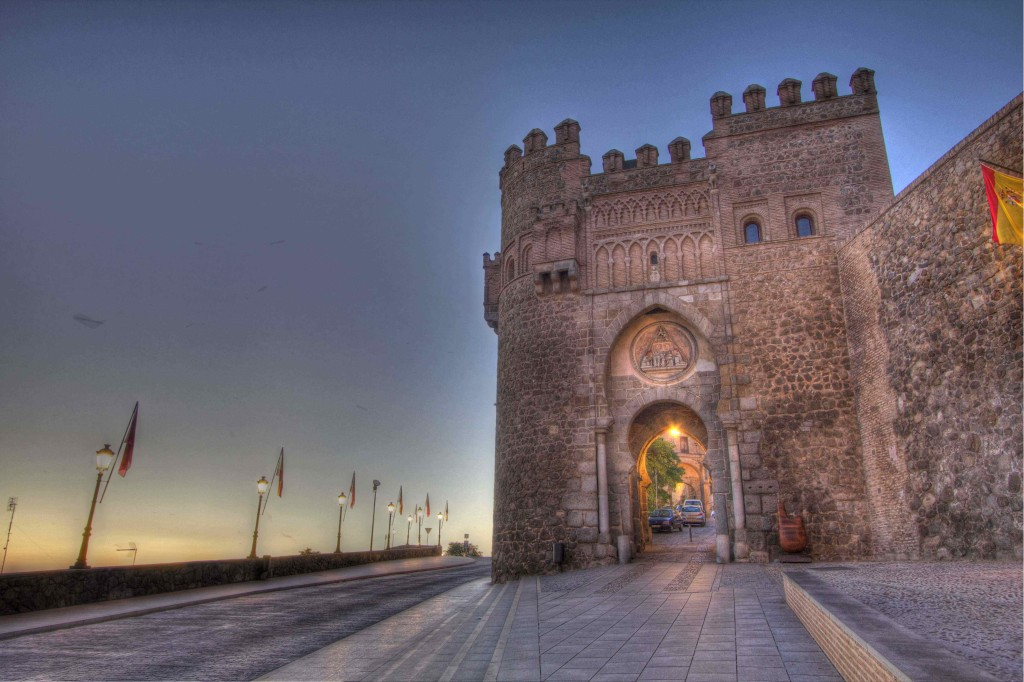 Toledo gate at dawn-Low Res-Rbundy