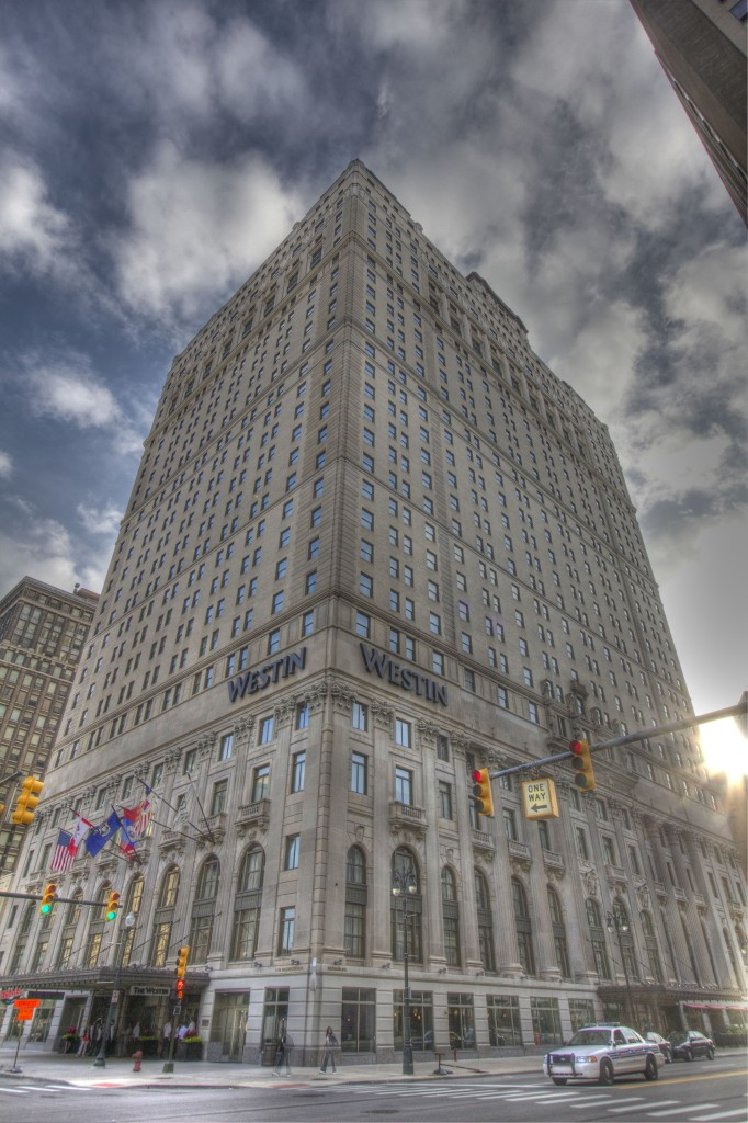 The Book Cadillac Hotel in Detroit, vacant for years, re-opened a few years ago after a $200 million dollar renovation that restored it to its original grandeur. Photo ©Robert Bundy