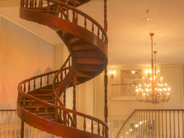 Sanctuary Spiral Staircase
