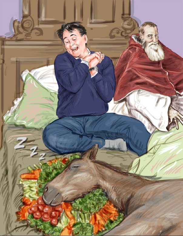 What I Ate_Horse_Vegetable_Pope