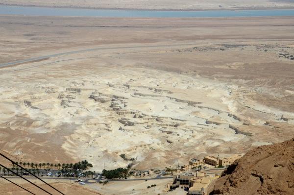 View from Masada.