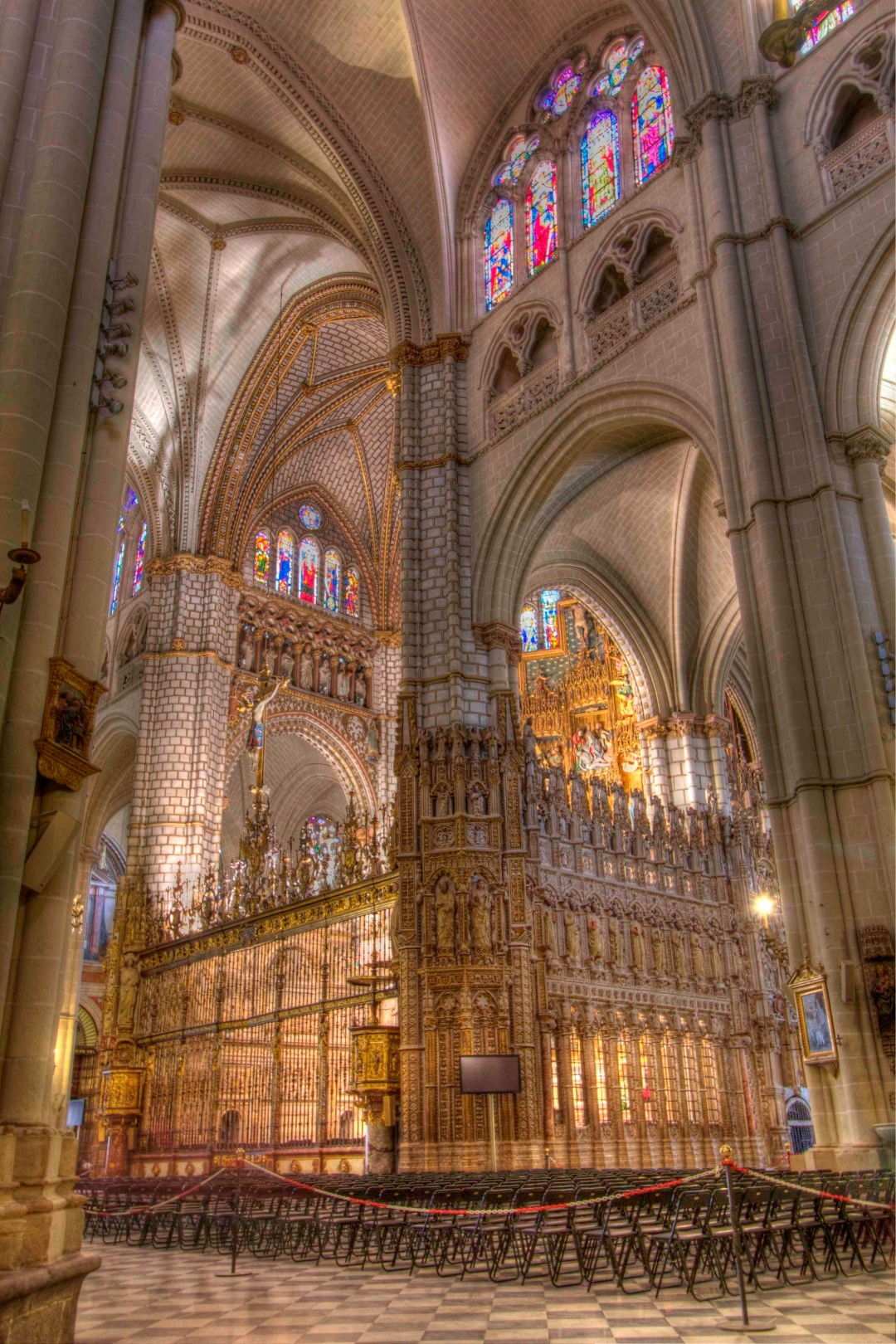 Toledo, cathedral, Gothic, Spain, Travelers Roundtable, Robert Bundy