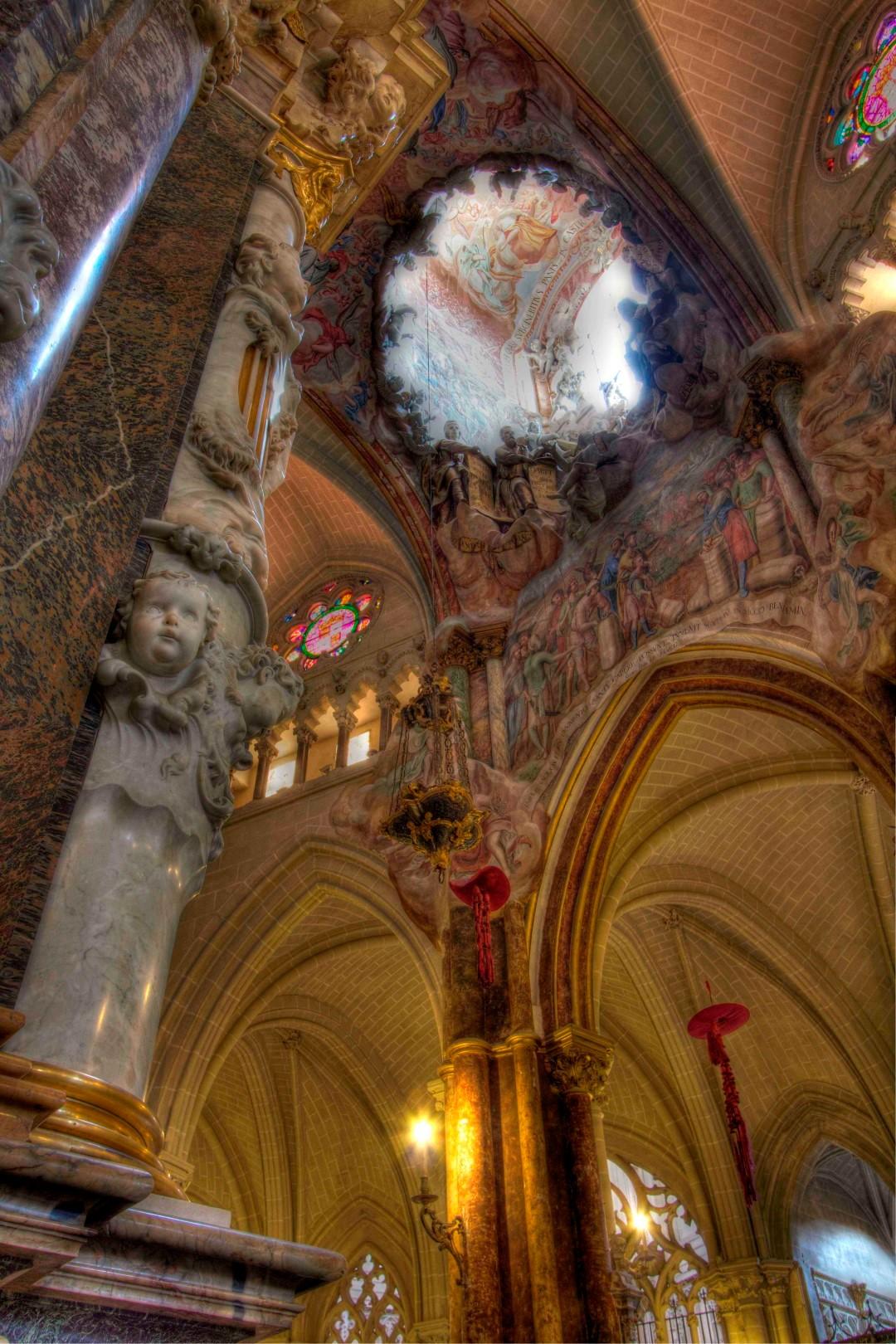 Toledo cathedral, oculus, Spain, Travelers Roundtable, Robert Bundy