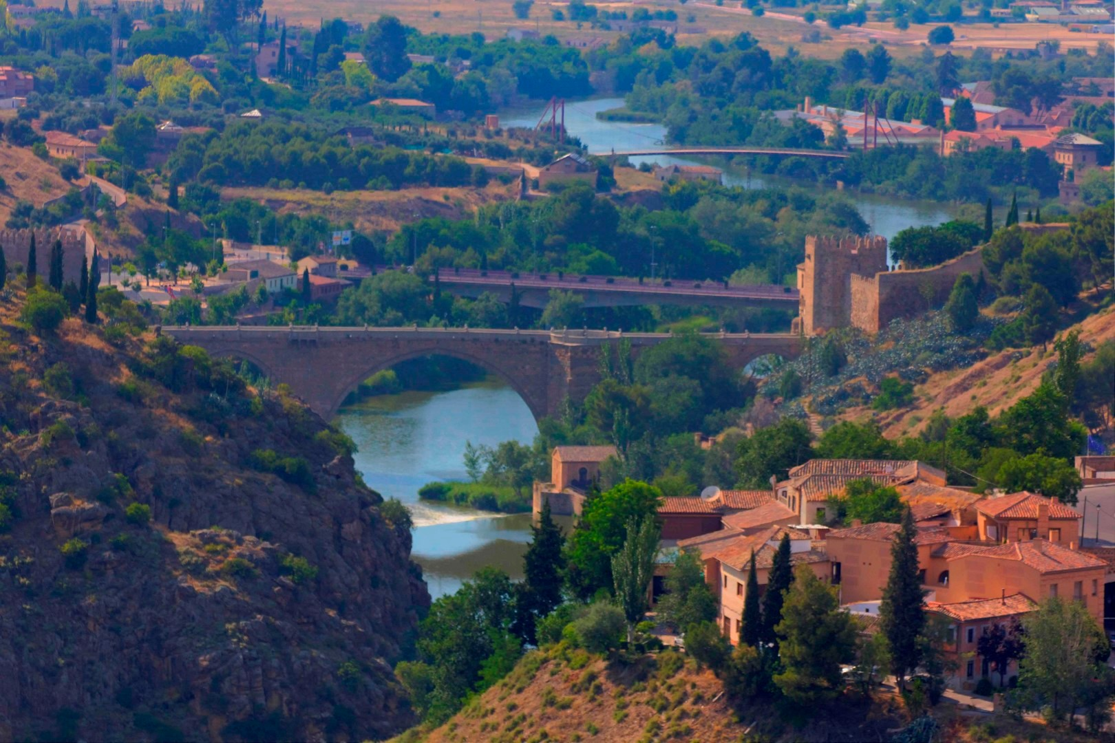 Toledo, Bridges, Tagus, Spain, Travelers Roundtable, Robert Bundy