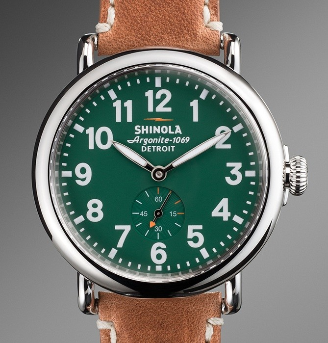 Shinola Watch Face
