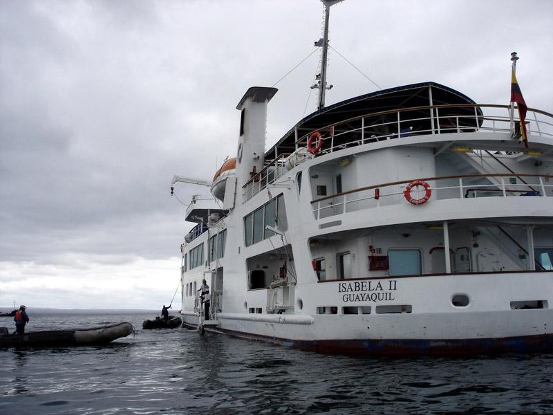 Galapogas boat