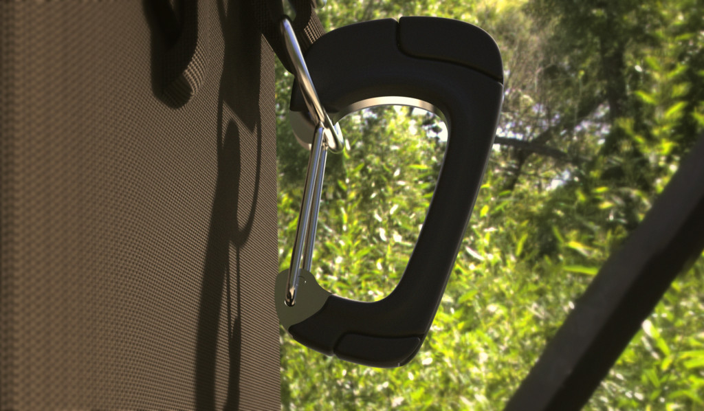 The NomadClip is a sturdy and fully functional carabiner, as well as a phone charger.
