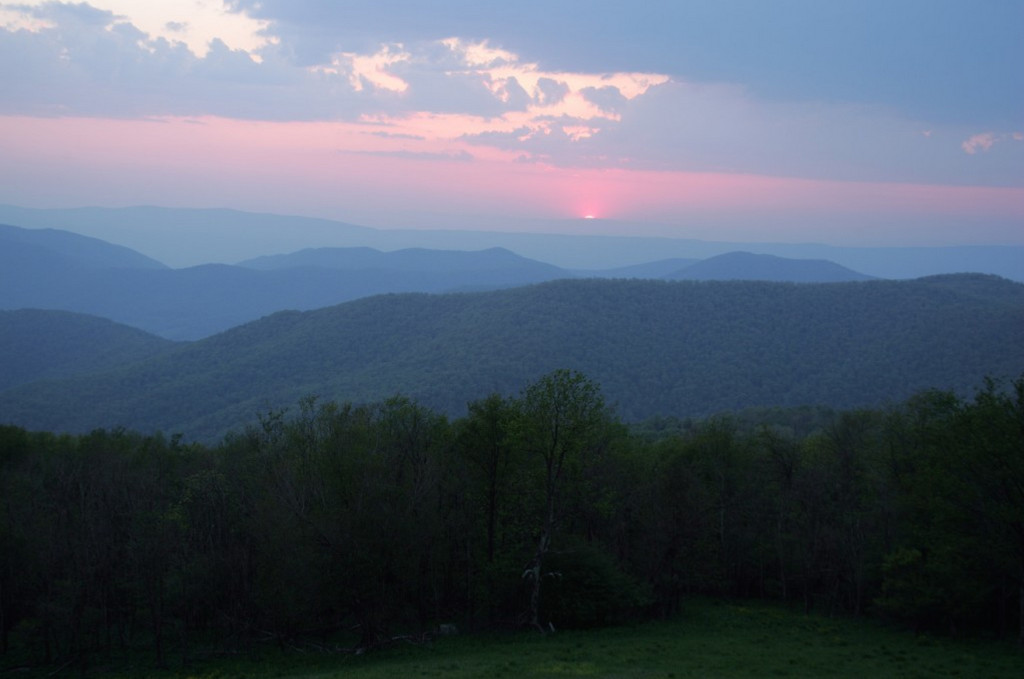 The Blue Ridge Mountains of Virginia. Photo by Bruce Henderson.