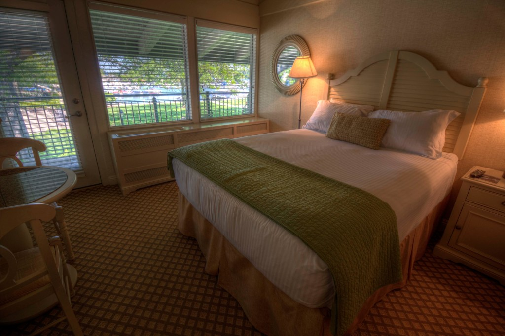 Rooms at the Abbey Resort are peaceful and well-appointed but the lake, the Avani Spa, and tons of things to do are merely steps away.